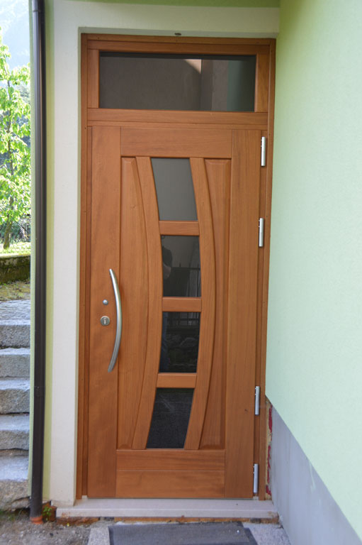 Portoncini e porte d 39 ingresso falegnameria eccher - Portoncini ingresso legno alluminio prezzi ...