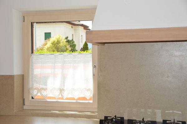 Serramenti in legno alluminio - interno